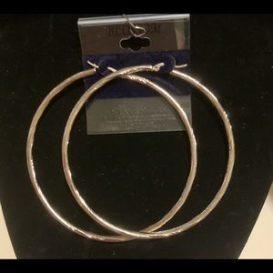 Large stainless steel hoops